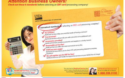 BANKCARD SERVICES PROVIDES EBT CARD PROCESSING SERVICE