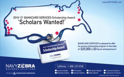 2016 BANKCARD SERVICES SCHOLARSHIP AWARDS