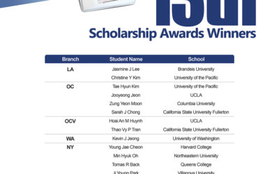 2016 BANKCARD SERVICES SCHOLARSHIP AWARDS WINNERS