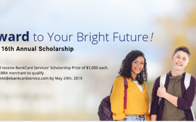 2019 BANKCARD SERVICES SCHOLARSHIP AWARD WINNERS