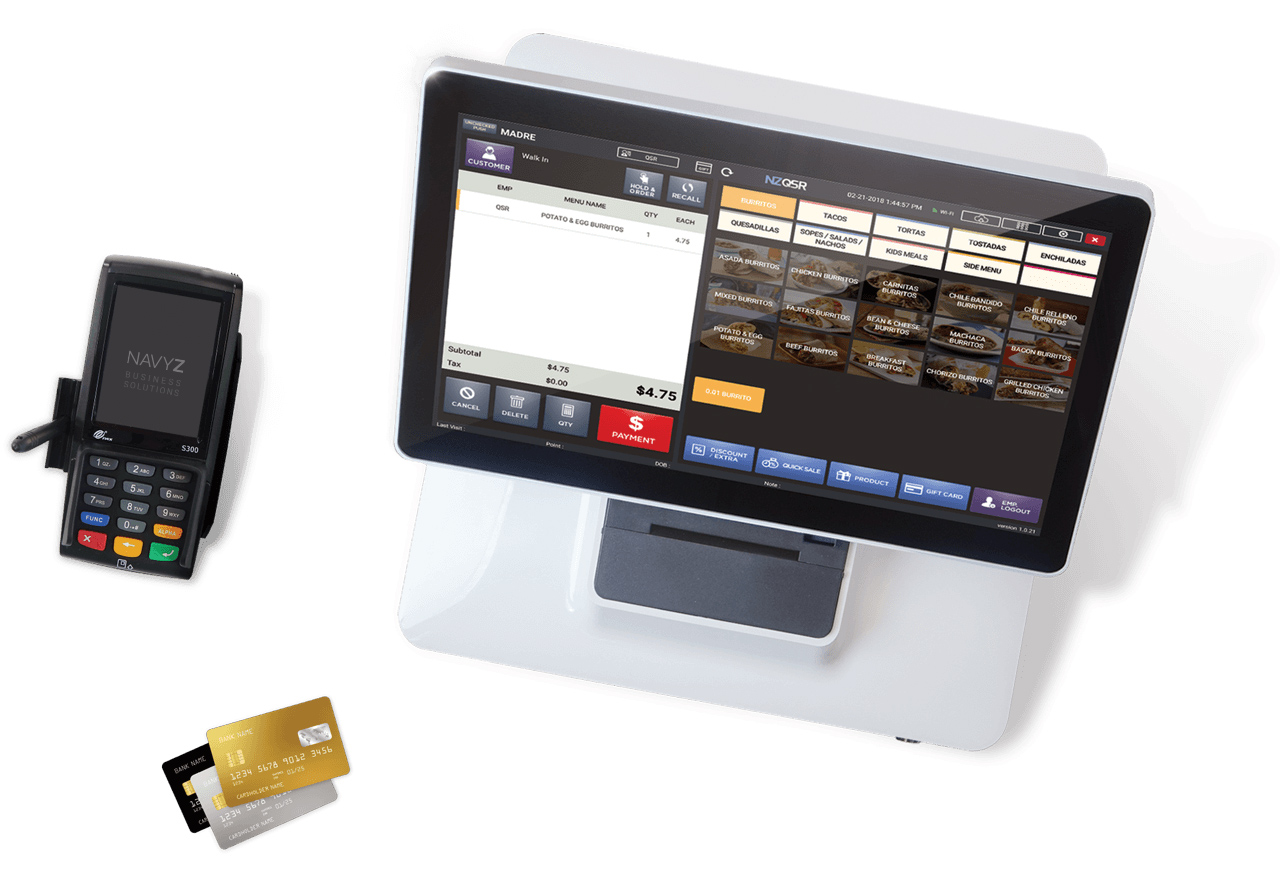 NAVYZEBRA All-in-One POS for every business